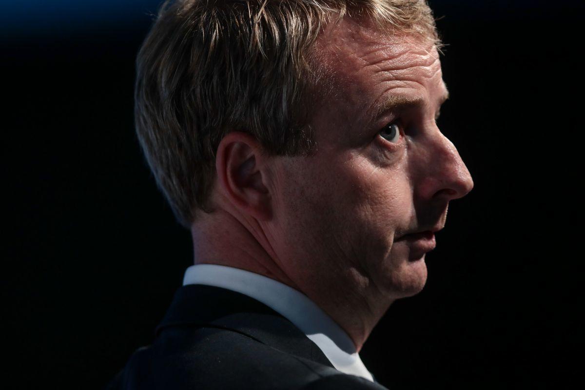 Terje Soviknes, Norway's petroleum and energy minister. Photographer: Simon Dawson/Bloomberg