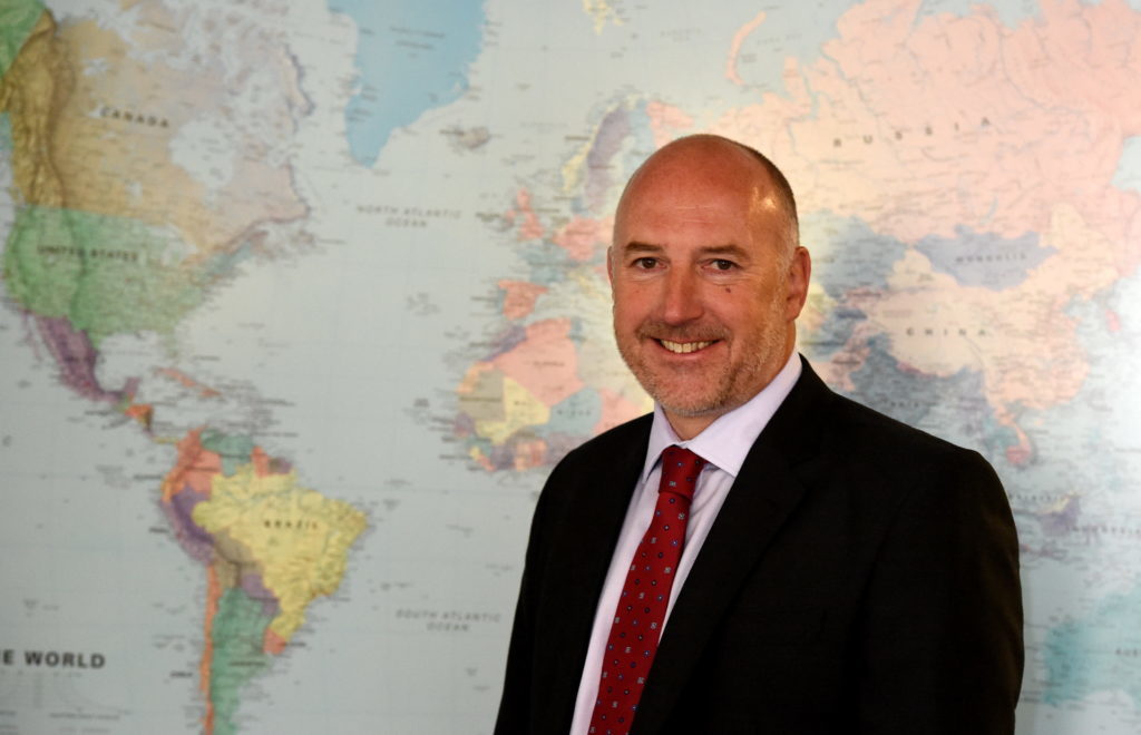 Mike Beveridge, managing director at Simmons Energy
