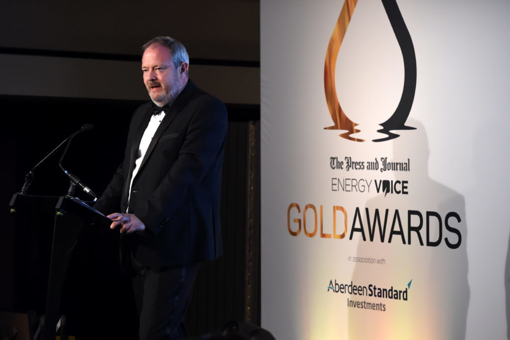 Press & Journal's Gold Awards 2018, at the Marcliffe Hotel.