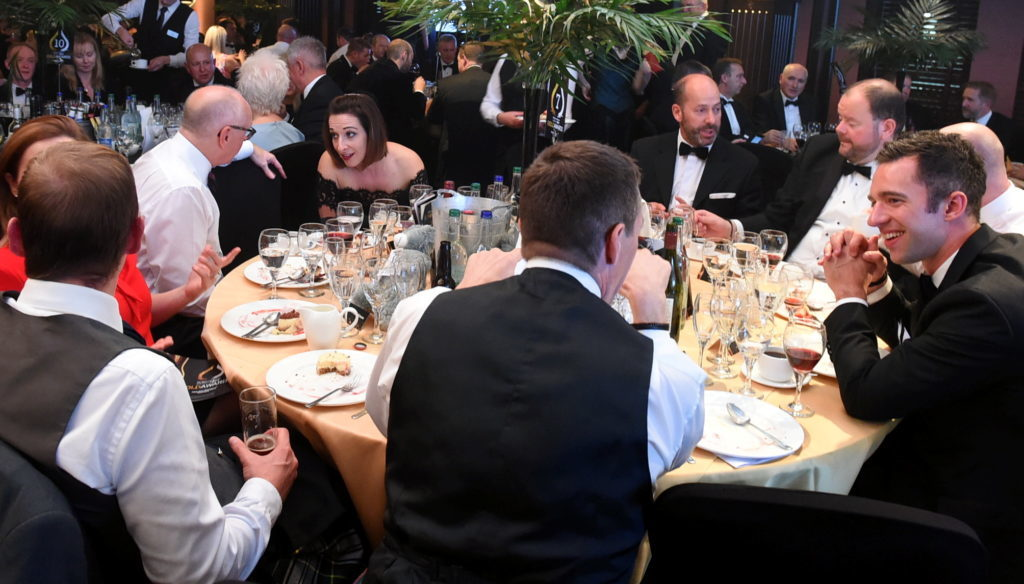 The DC Thomson Gold Awards at Marcliffe at Pitfodells Hotel, Aberdeen. 