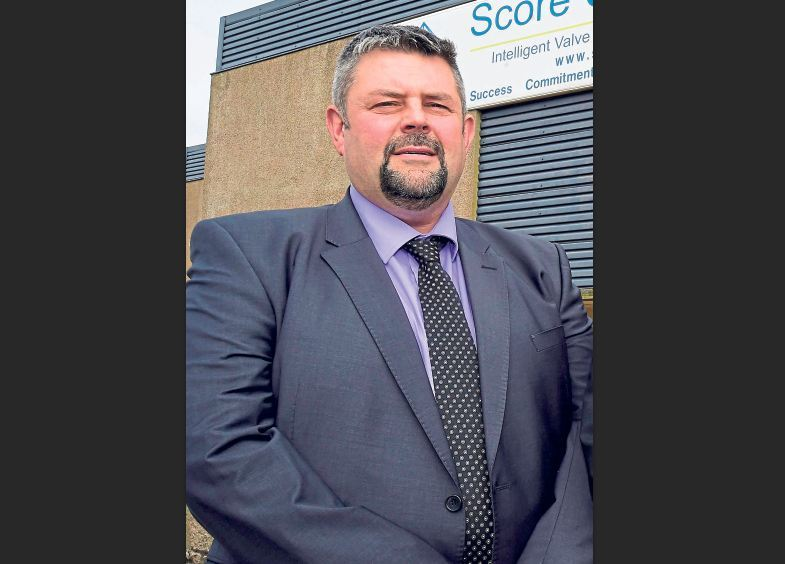 EXPANSION: Conrad Ritchie, managing director of Score Group