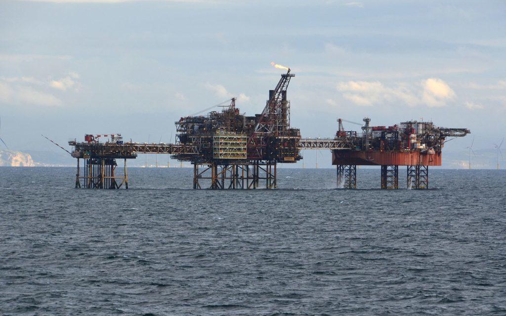 Eni's Douglas oil complex.
