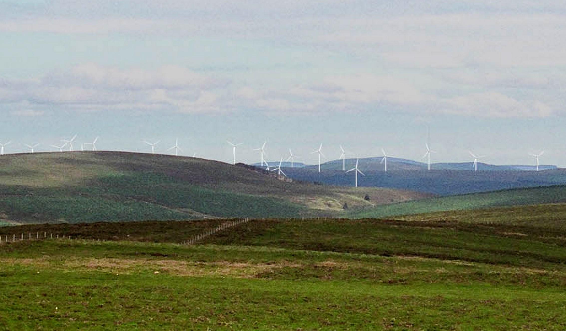 Mid Hill Windfarm