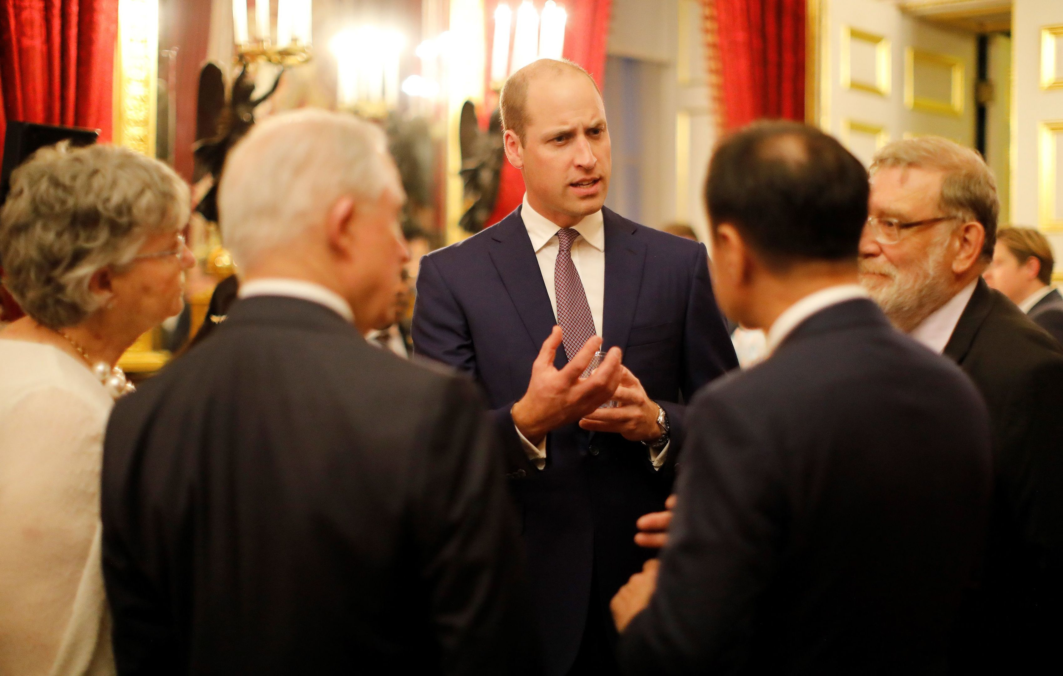 Prince William will learn about UK atomic energy.