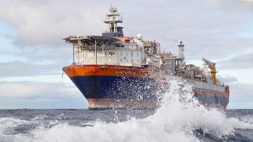 The Norne FPSO in the Norwegian Sea. (Photo: Anne-Mette Fjærli)