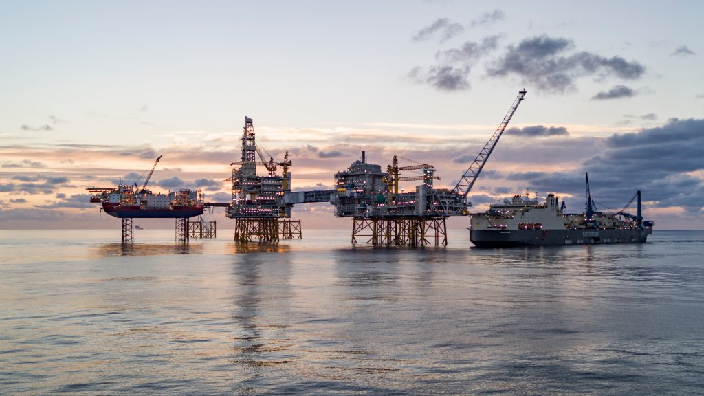 The giant Johan Sverdrup project started producing last year.