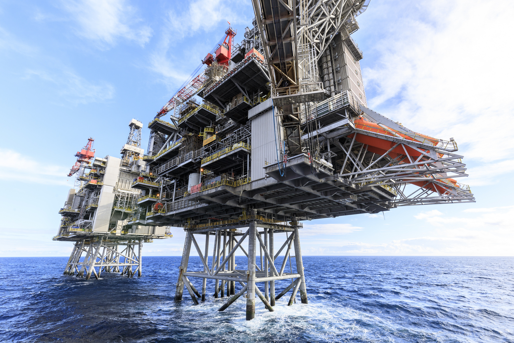 BP's Clair Ridge installation, west of Shetland