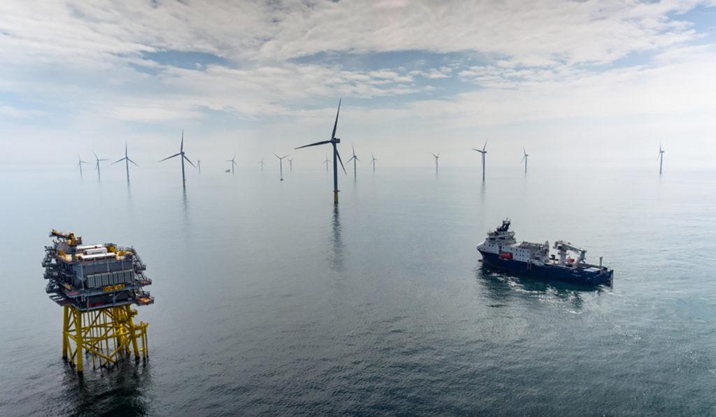 Dudgeon Offshore Windfarm