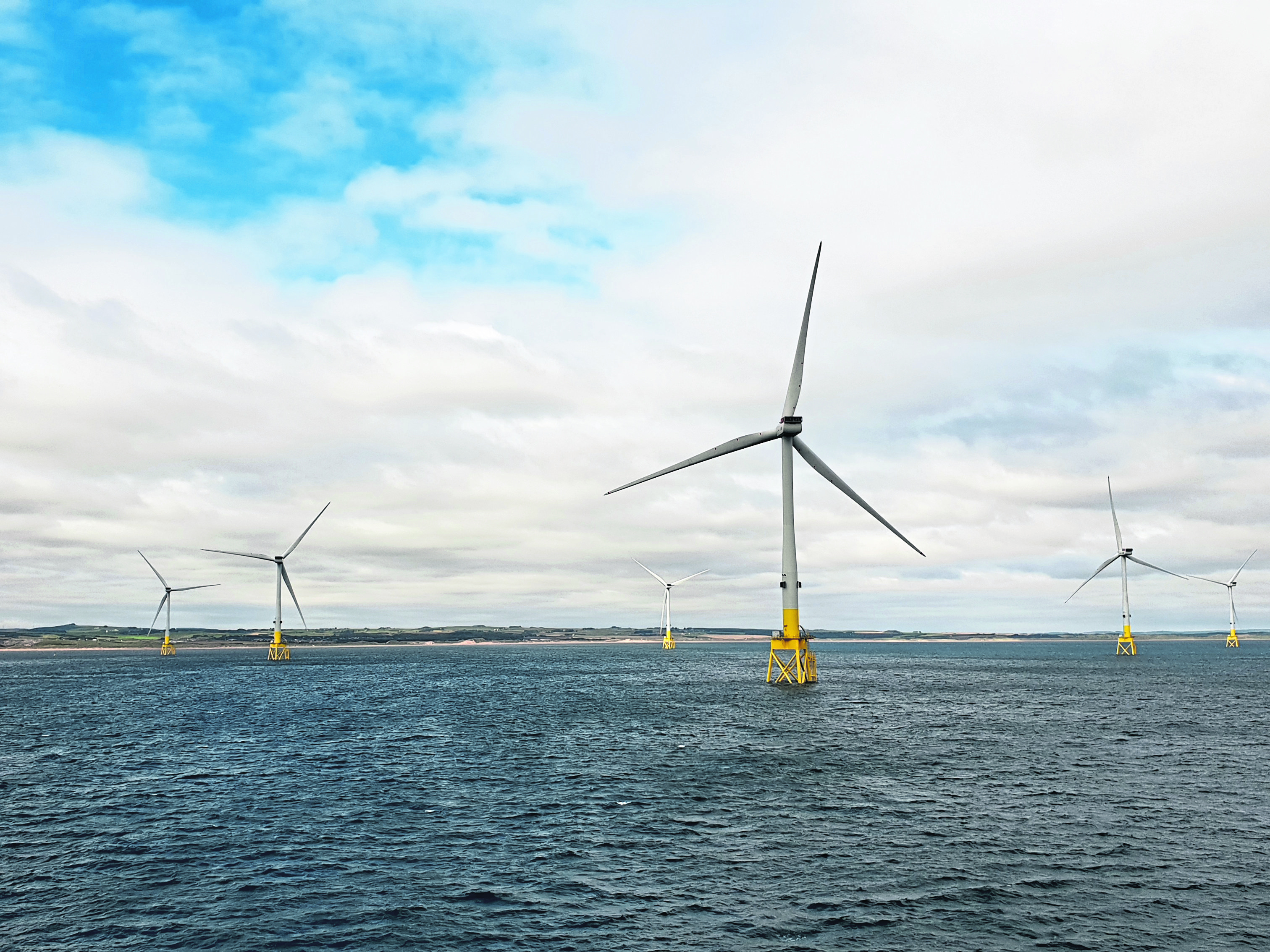 POWERING AHEAD: The EOWDC will improve efficiency and reduce costs for future offshore wind projects.