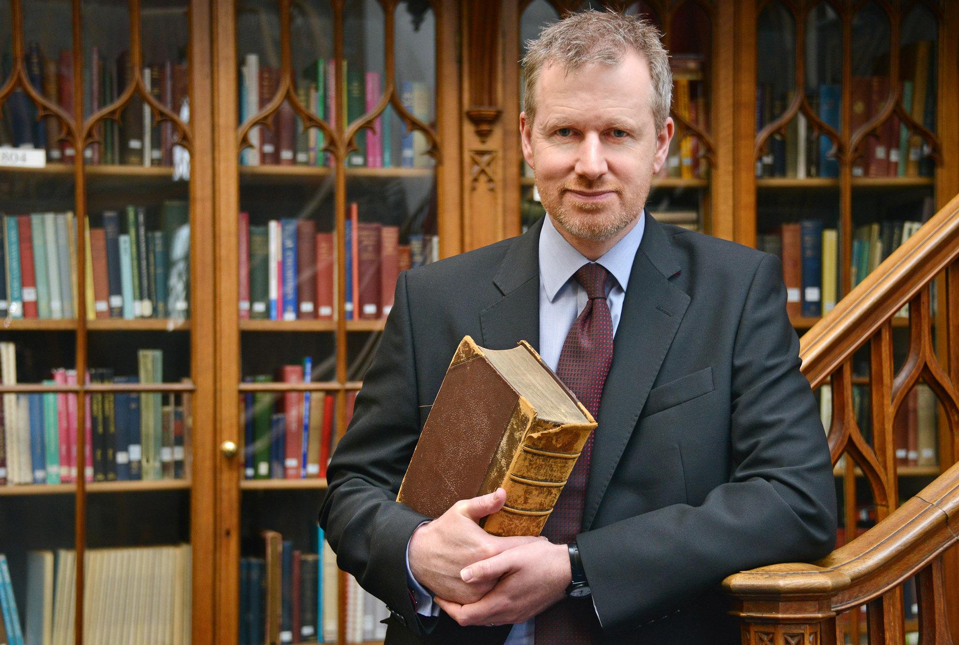 Aberdeen University professor John Paterson