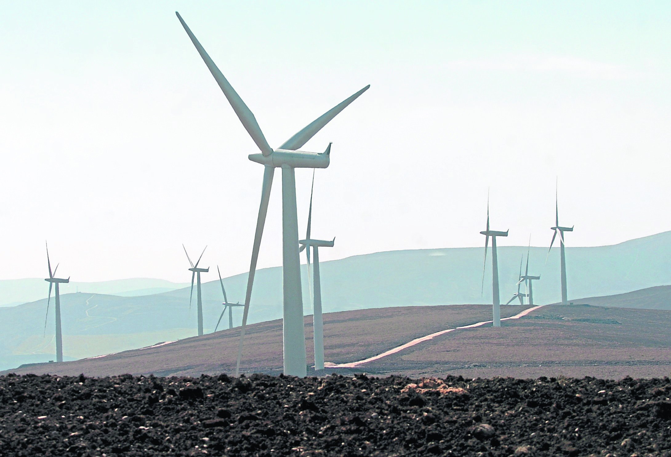 The Paul's Hill wind farm at Ballindalloch opened in 2006 and has 28 turbines, with plans for seven more
