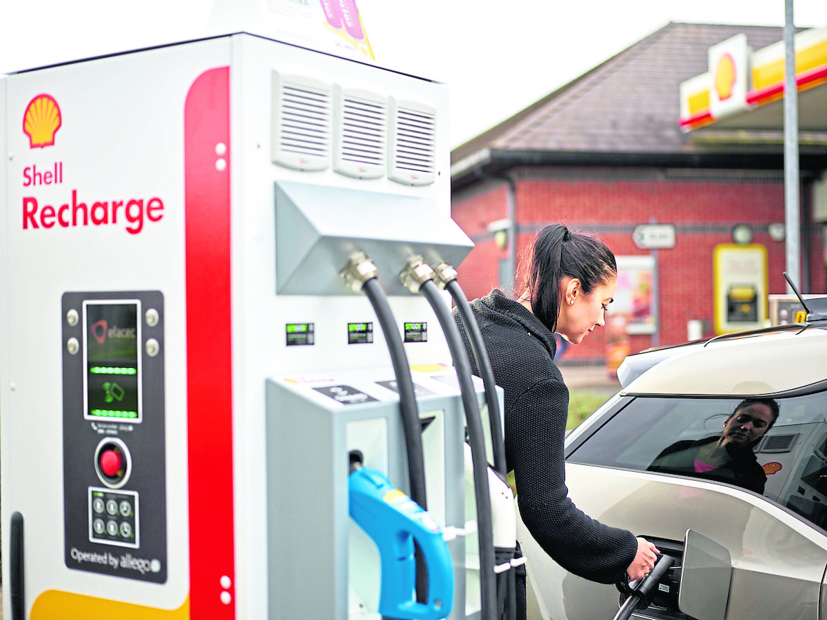 REVVY, STEADY, GO: The Shell Recharge initiative is being brought to Scotland after it met with great success south of the border