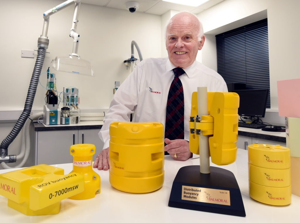 Balmoral chairman and managing director Jim Milne