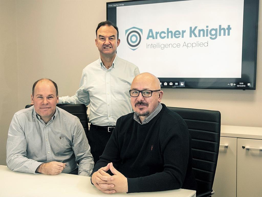 (Left to Right: Mike Watson, John Scrimgeour, David Sheret.  Photographer: Rory Raitt)