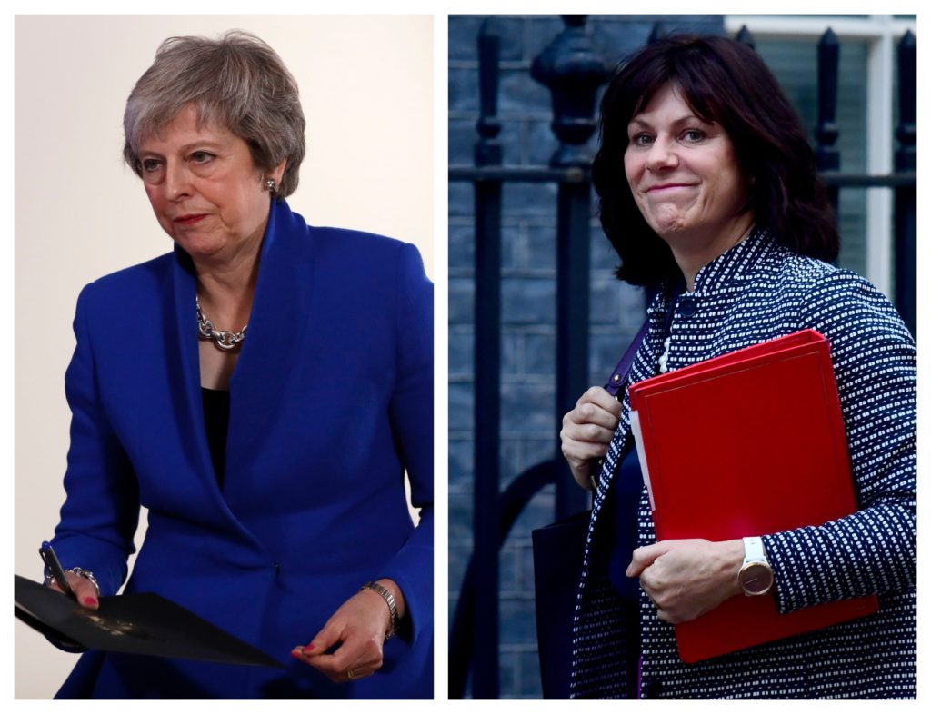 Claire Perry is 'backing the PM '110%' ahead of the no confidence vote later.