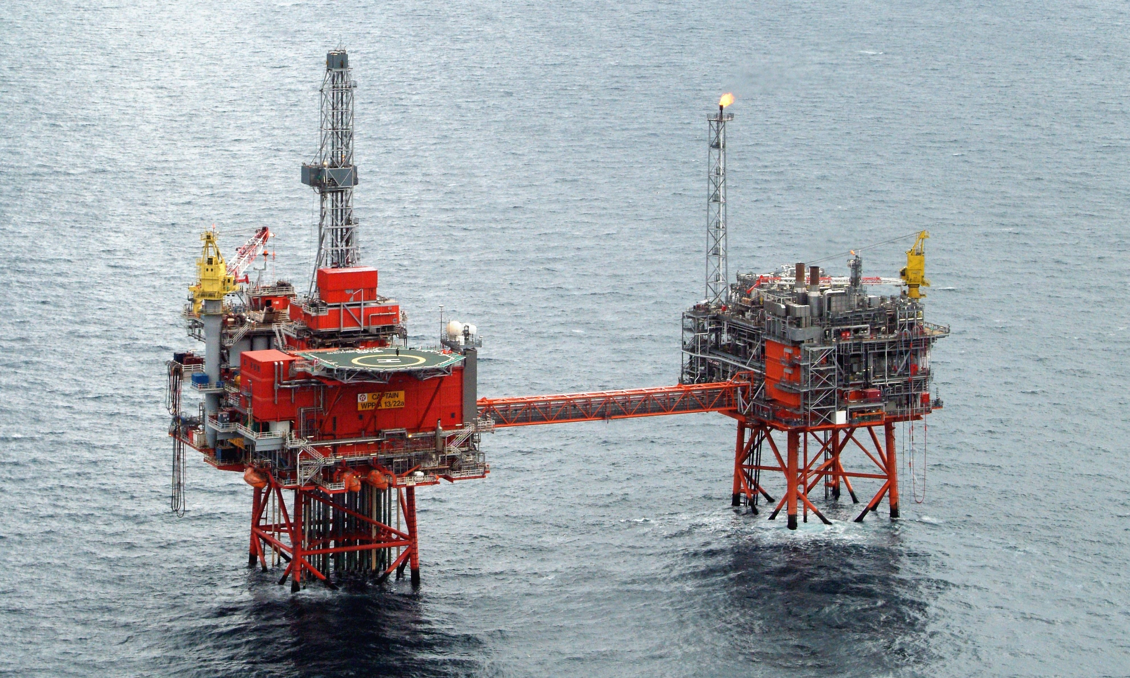 UK offshore Westwood