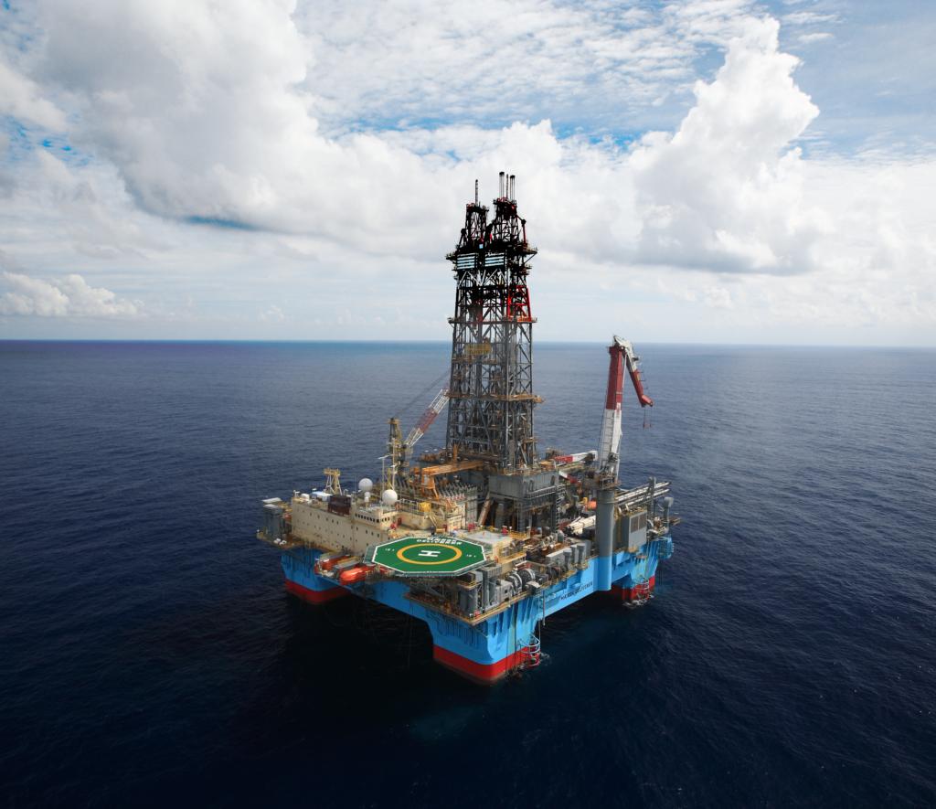 The Maersk Deliverer rig