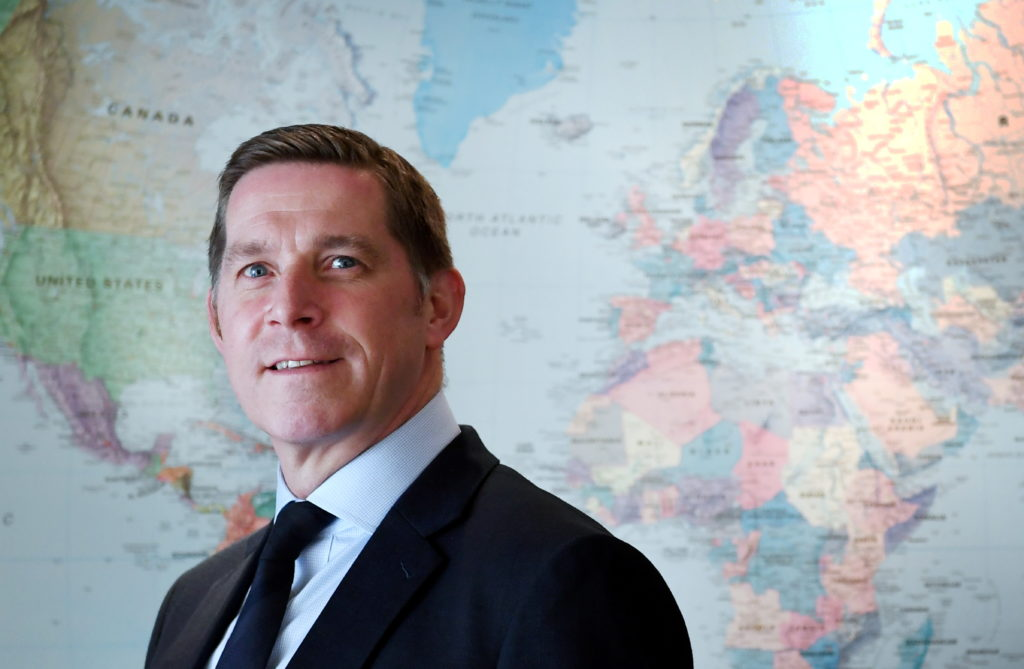 Walter Thain is chief executive of Three60 Energy