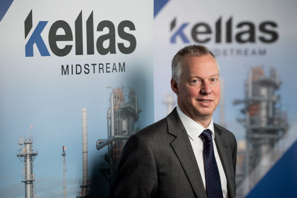 Kellas Midstream managing director Andy Hessell.