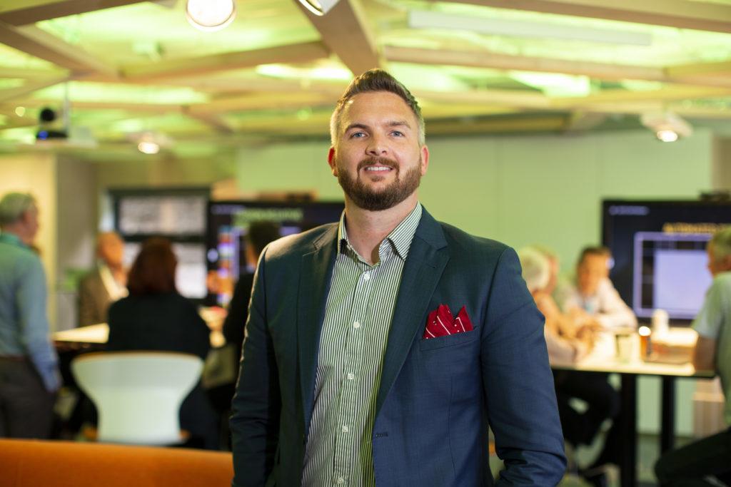 David Millar, TechX Director at the OGTC