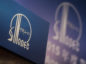 A China Petroleum & Chemical Corp. (Sinopec) logo is displayed on a podium at a news conference in Hong Kong, China. Photographer: Justin Chin/Bloomberg