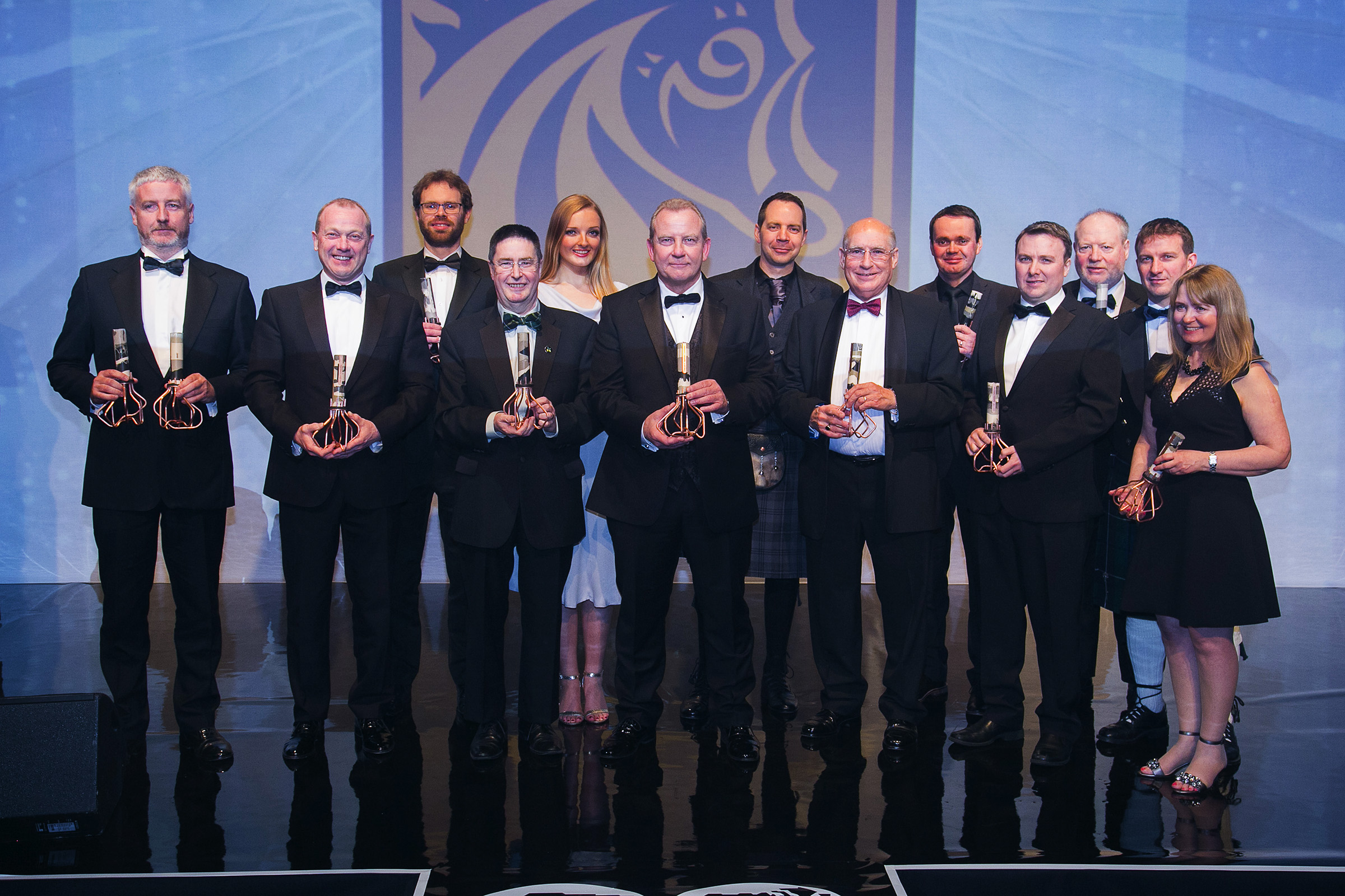 Winners at last year's OAA ceremony