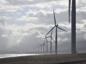 A file photo of a wind farm.