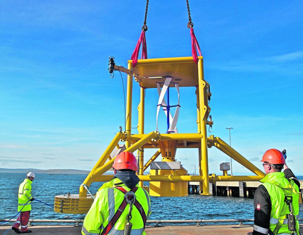 EC-OG's Subsea Power Hun (SPH).
