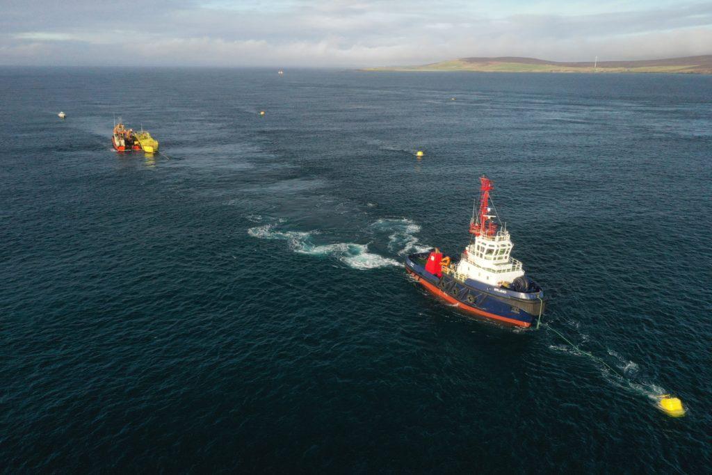 Deployment of Magallanes Renovables ATIR at Fall of Warness.