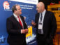 Scottish Government minister for Energy Connectivity and the Islands Paul Wheelhouse MSP with Ian Donald Enpro Subsea managing director