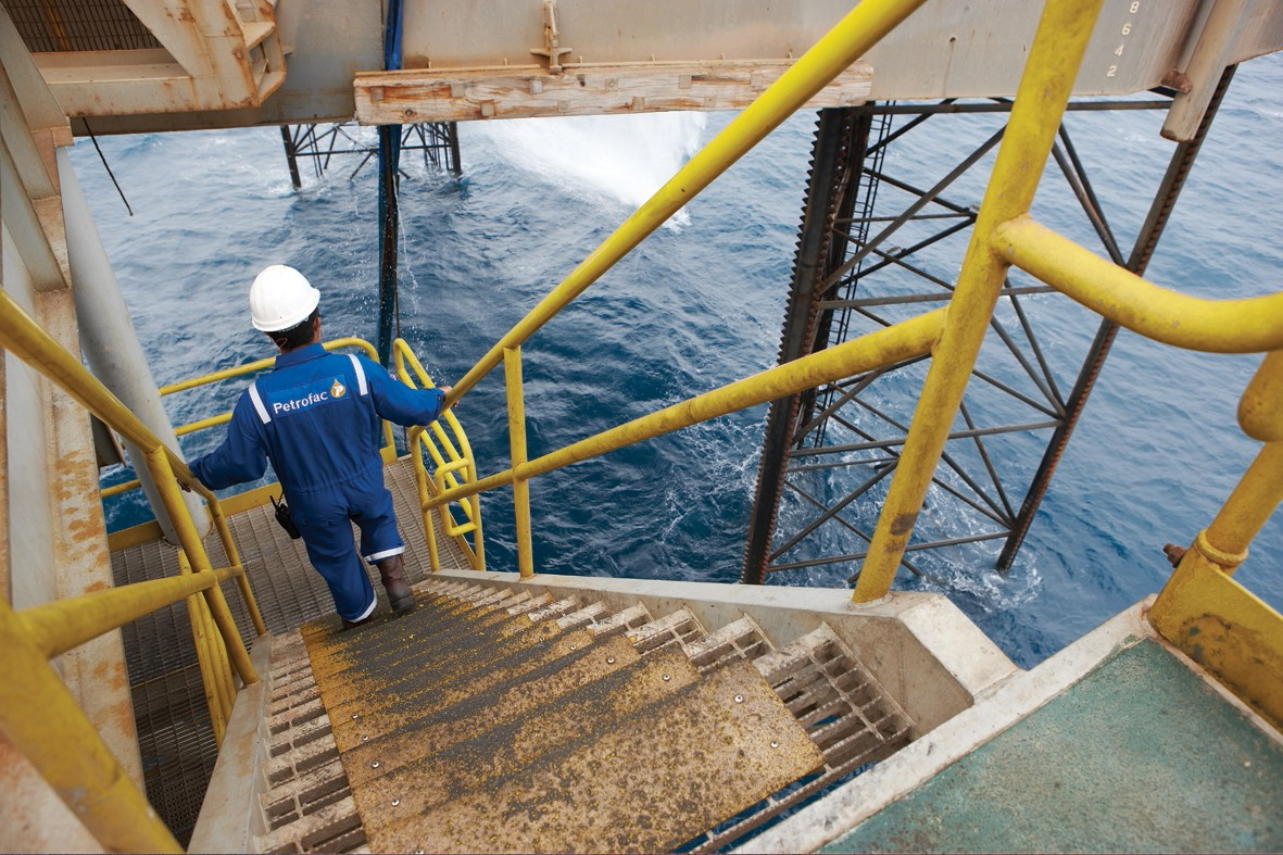 Petrofac operations in the North. Handout pic from the firm. Black Gold