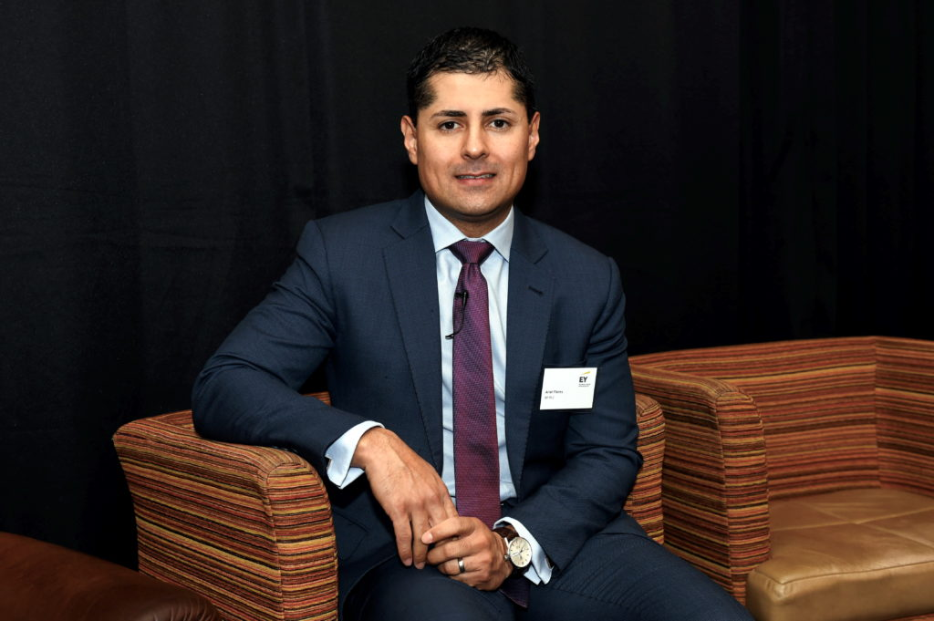 EY launching annual UK oilfield services report. Pictured is, Ariel Flores, BP. 06/02/19 Picture by HEATHER FOWLIE