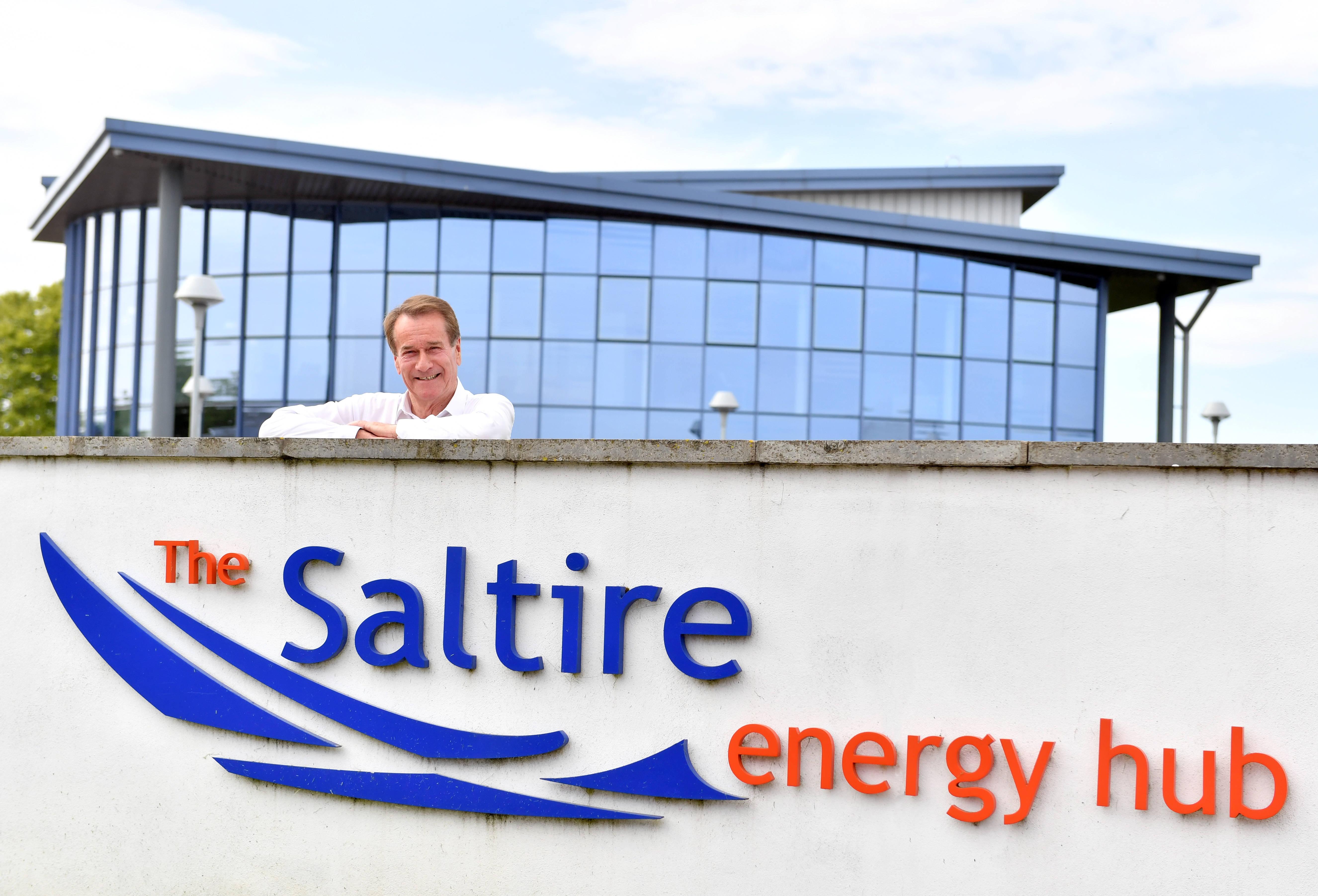 Mike Loggie, Chief Executive of Saltire Energy