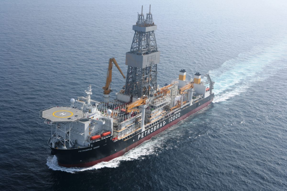 The worker died following the incident on the Petrobras 10000 Drillship in 2017. Pic from  GCaptain.com via BSEE
