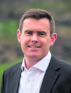 Shaun Reynolds, Partner, Transaction Services at Deloitte in Aberdeen Saltire Court, Edinburgh, Midlothian, Uk. 31/05/2018. Pic shows: Director, Corporate Finance at Deloitte, Shaun Reynolds. Credit: Ian Jacobs Pic from Big Partnership