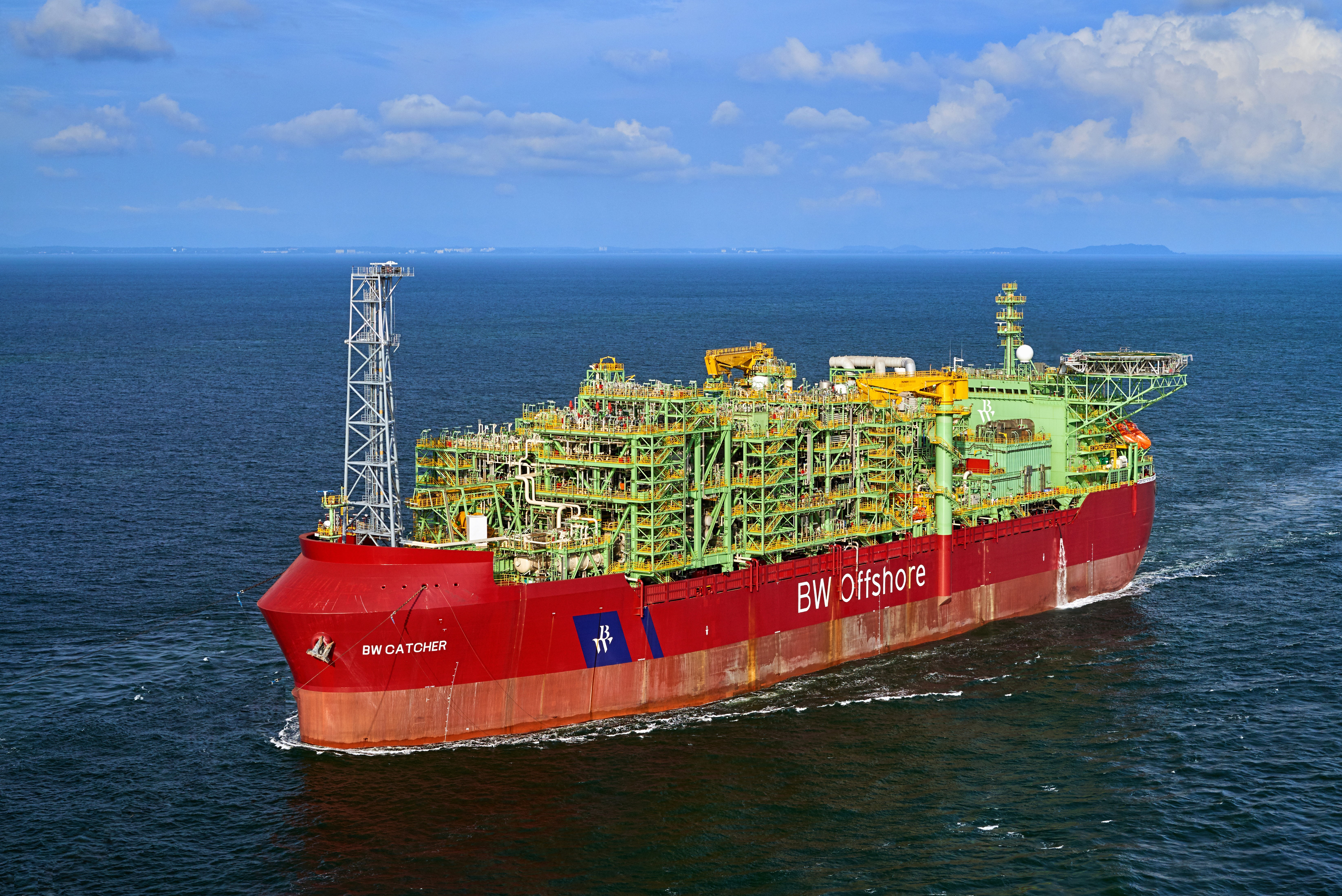 The FPSO which serves Premier Oil's Catcher field in the UK North Sea.