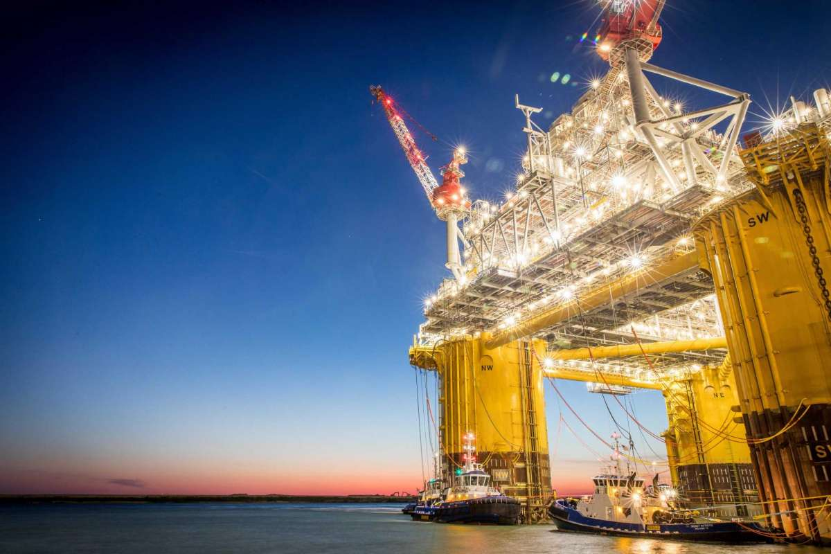 Workers aboard a Shell Oil offshore rig in the Gulf of Mexico have tested positive for the coronavirus and flown back to land for treatment, a KHOU report says.