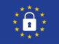 General Data Protection Regulation (GDPR) padlock on european union flag