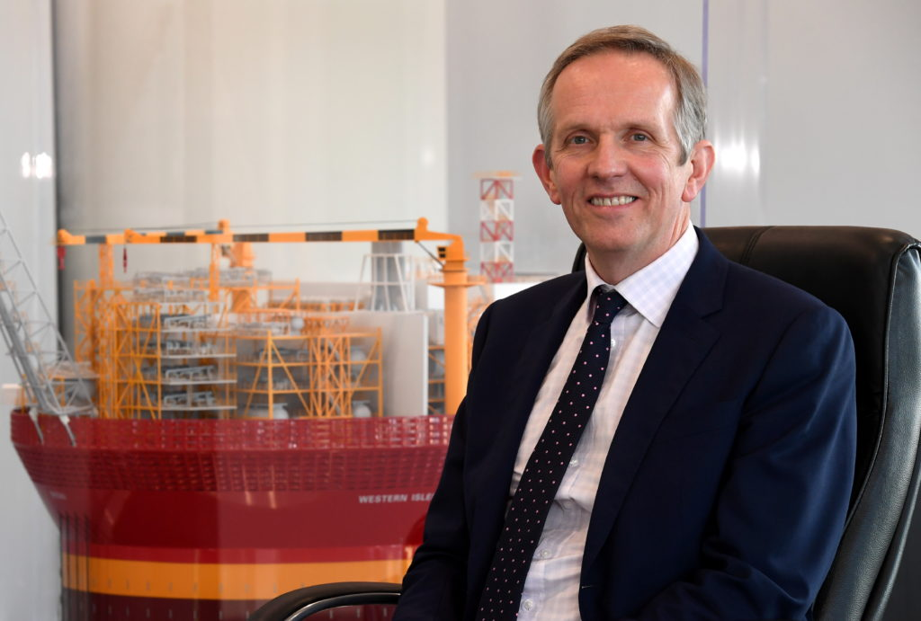 Alan Curran, chief executive of Verus Petroleum