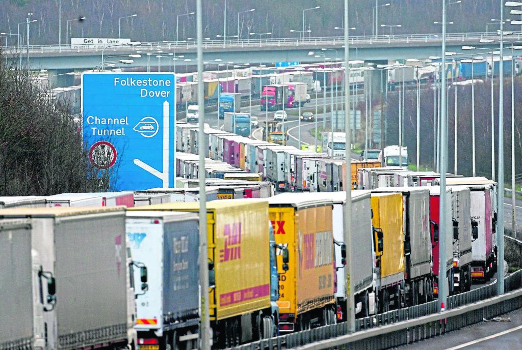 IN A JAM: Major disruption at key ports is among the unwanted likely consequences of a no-deal Brexit