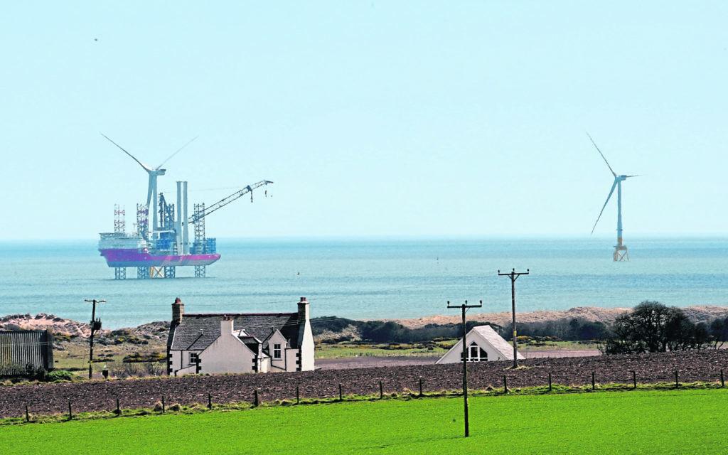 Vattenfall's European Offshore Wind Deployment Center (EOWDC), Blackdog, Aberdeenshire.