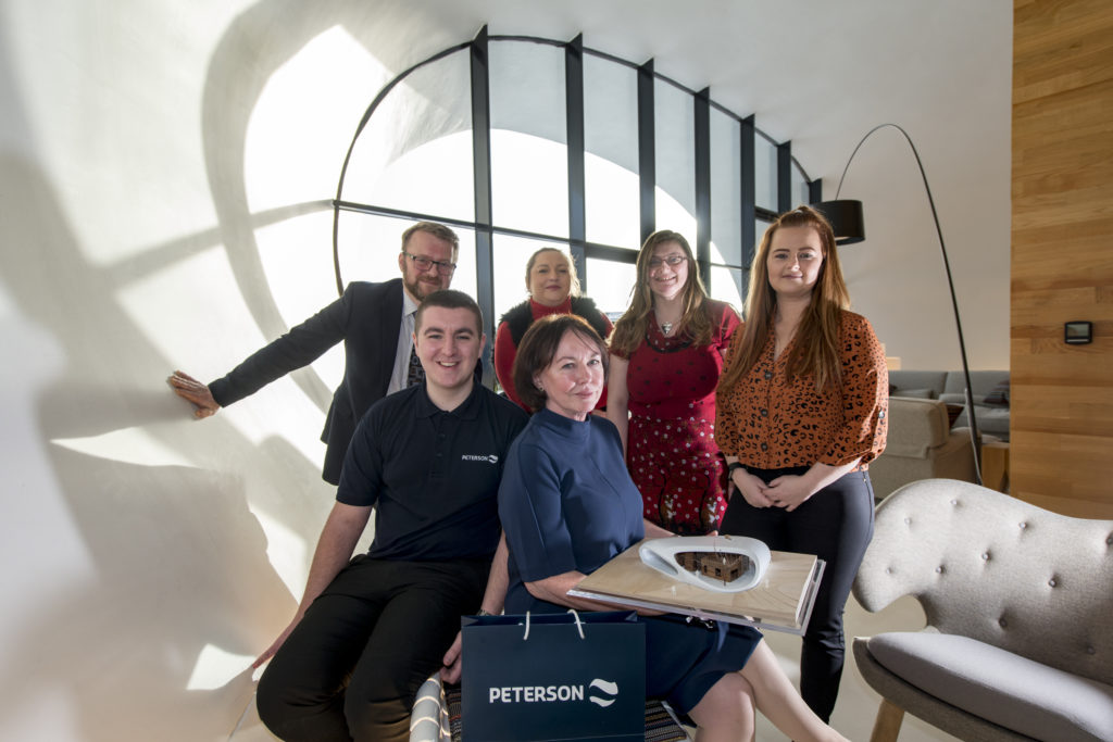 Peterson staff raised £20,000 for Mental Health Aberdeen and Maggie's
