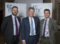 Caption: left to right Andy Brown, Director Operations ECITB; Dr Stephen Mulva, Director of the Construction Industry Institute (CII) at the University of Texas, and William Lindsay, Chairman of the ECITB Oil & Gas Project Management Steering Group (OPMSG)