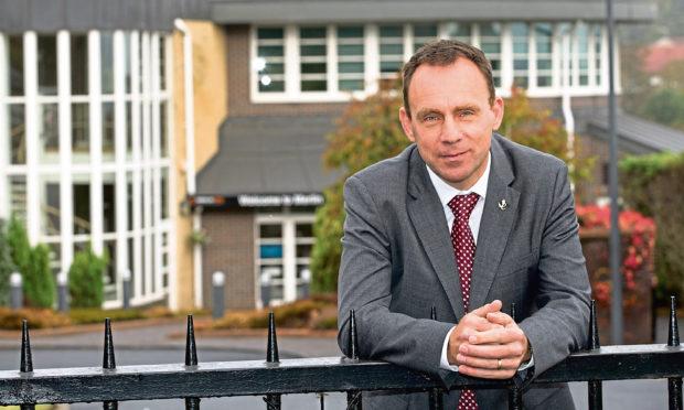 Merlin ERD managing director Iain Hutchison