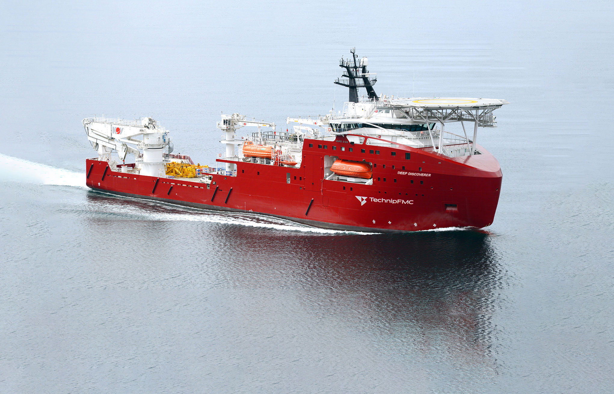 The Deep Discoverer DSV. Image: TechnipFMC