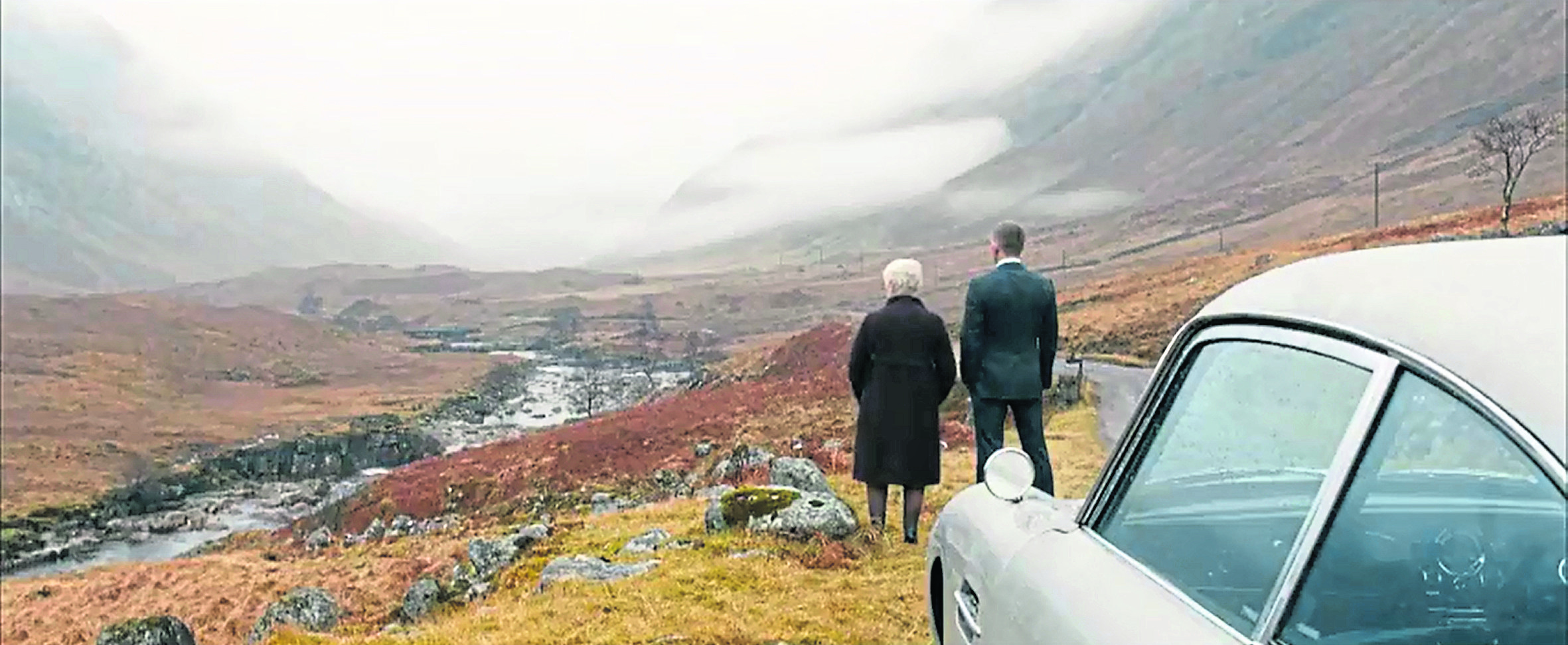 The glen was made famous by Bond film Skyfall.