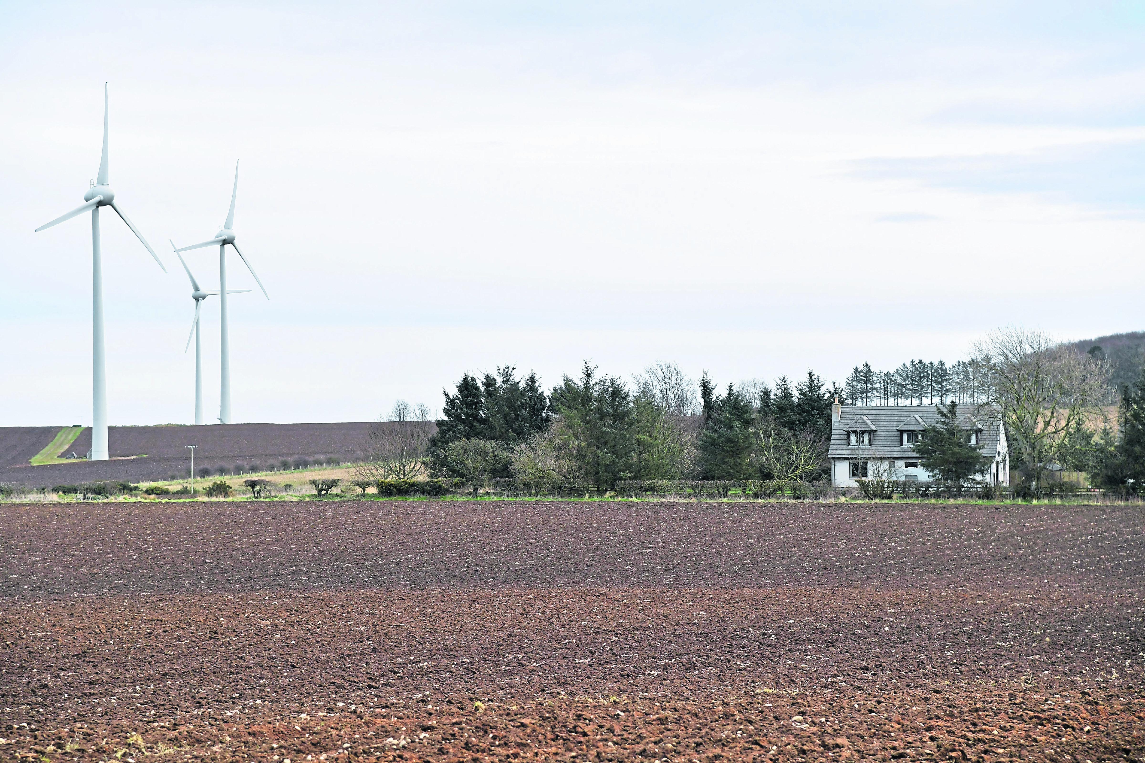 Stuartfield couple win battle against 'jet-like' turbines