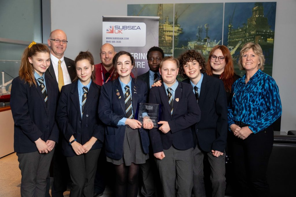 A team of pupils from All Saints Catholic High School in Sheffield have been crowned champions of the Subsea UK 2019 STEM Challenge.