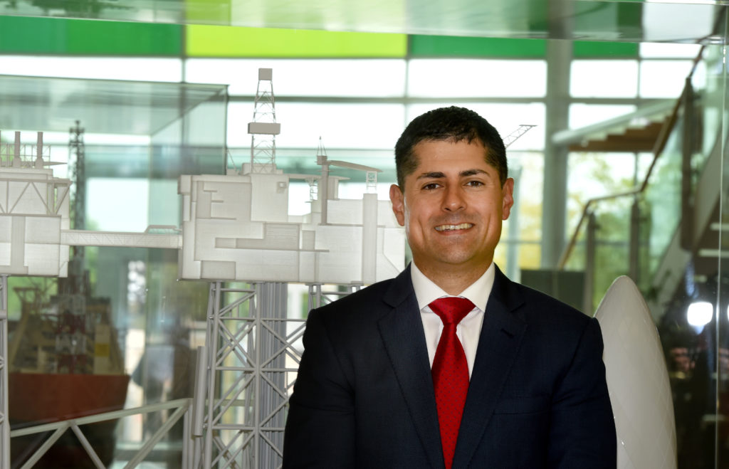 Energy Voice: Ariel Flores, the newly appointed North Sea head at BP, pictured at Dyce, Aberdeen. Picture by Jim Irvine 16-7-18