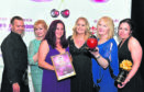 cHeRries awards at the AECC.     Winner - Terrific Team of the Year.  Pictured - Chrysaor E&P Services, L-R Mark Reid, Maggie Braid, Claire Grainger, Kathryn Hetherington, Corinne Kelt and Lynsey Macalister.        Picture by Kami Thomson    01-06-18